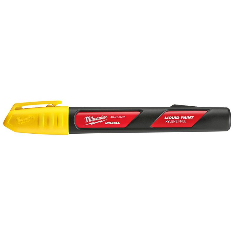 Marker olejowy INKZALL - żółty